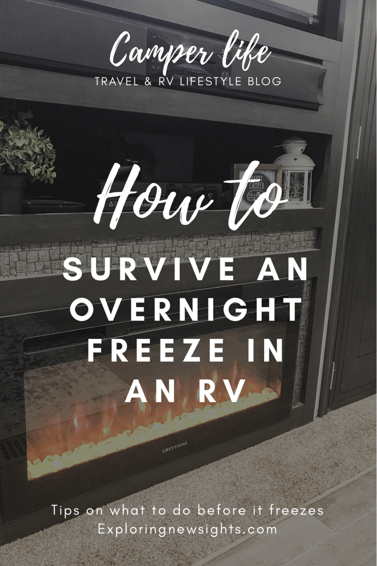 howtosurviveanovernightfreezeinanrv - Winter RV Living: Survive An Overnight Freeze