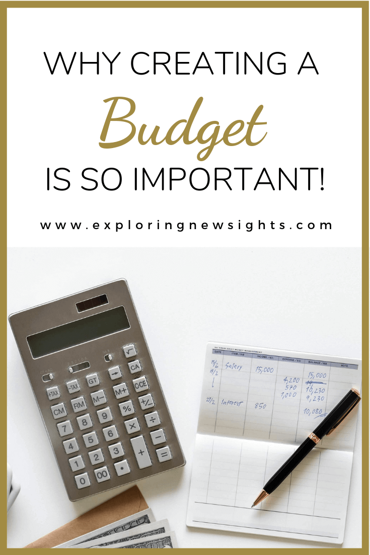 Why creating a budget is very important - Why Creating A Budget Is So Important!