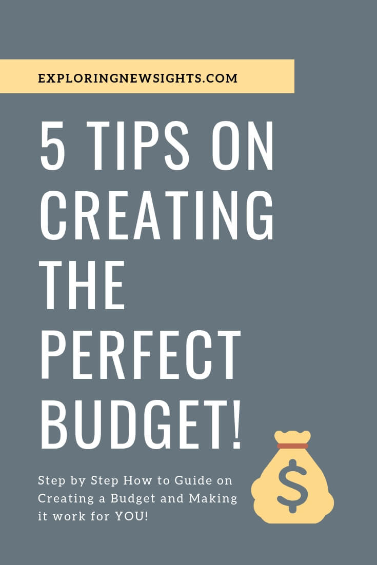5 Tips on Creating the Perfect Budget 2 1 - 5 Tips on Creating the Perfect Budget