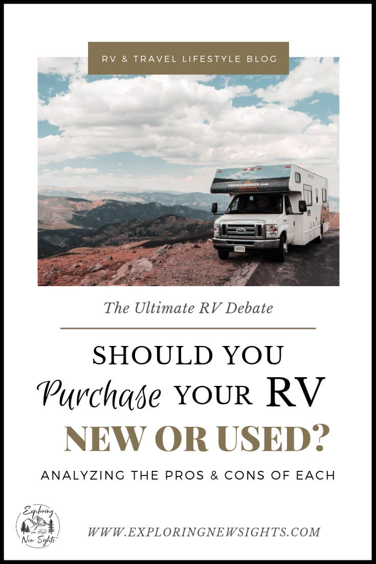 Wedding Planner Blog 4 2 - Should You Buy a New or Used RV? Analyzing the Pros & Cons