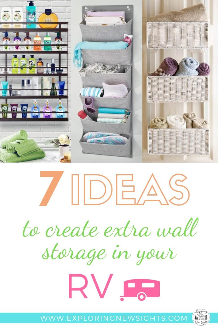 7 Ideas to Create Extra Wall Strorage in your RV - 7 Ideas To Create Extra Wall Storage In Your RV