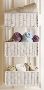 Over the Door Basket Organizer
