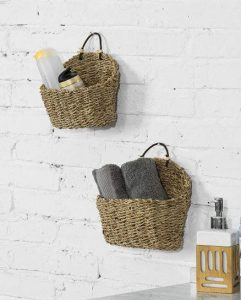 Hanging Woven Baskets 2 241x300 - 7 Ideas To Create Extra Wall Storage In Your RV