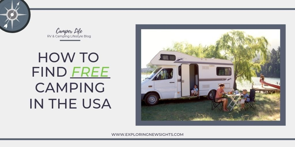 How to 5 - How to Find Free Camping in the USA