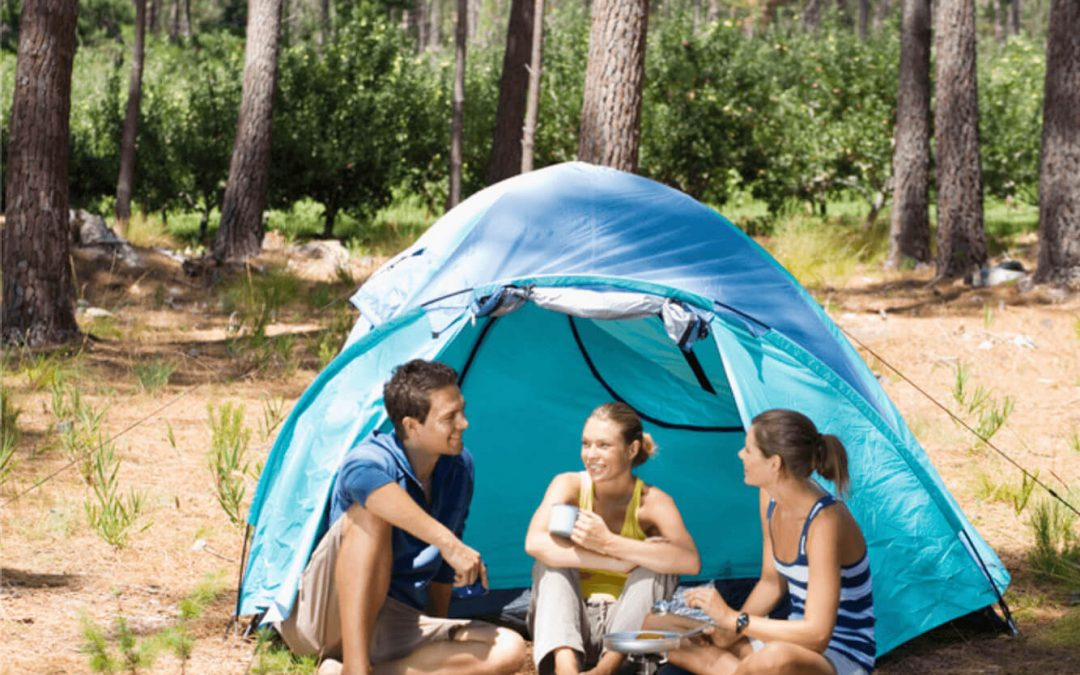 How to stay cool during summer camping trips.