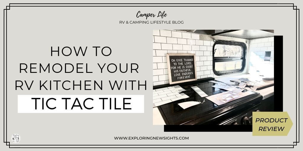 How to 7 2 - RV Remodel : How To Use TIC TAC TILE To Upgrade Your RV Kitchen