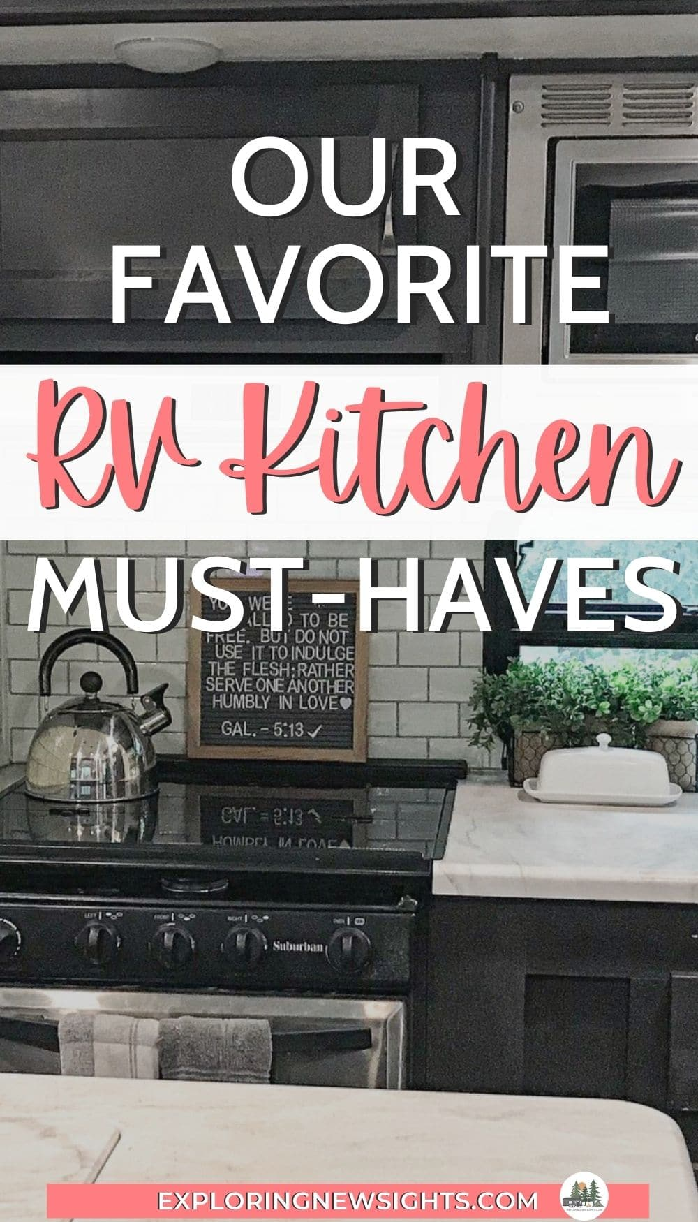 RV Kitchen must-haves