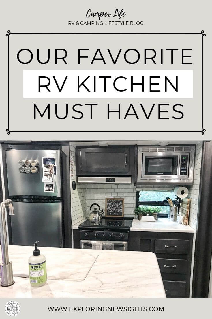 how to DIY your own glamping trip 2 1 - The Best RV Kitchen Necessities!
