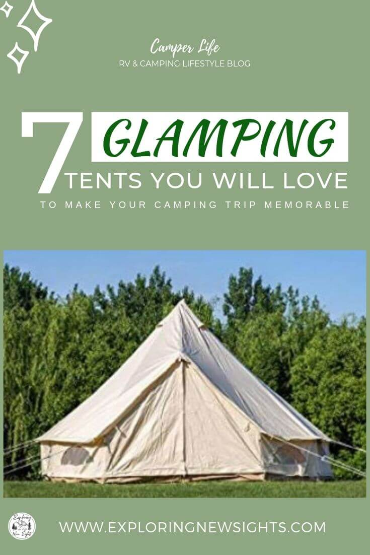 how to DIY your own glamping trip 7 1 - Best Tents For Your DIY Glamping Trip