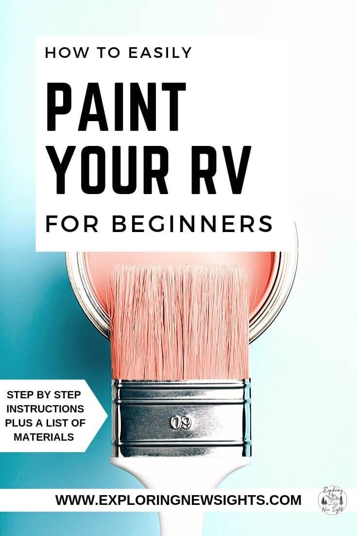 How to paint your rv - How To Easily Paint Your RV Interior Walls