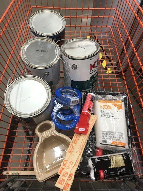 materials e1568827283861 - How To Easily Paint Your RV Interior Walls