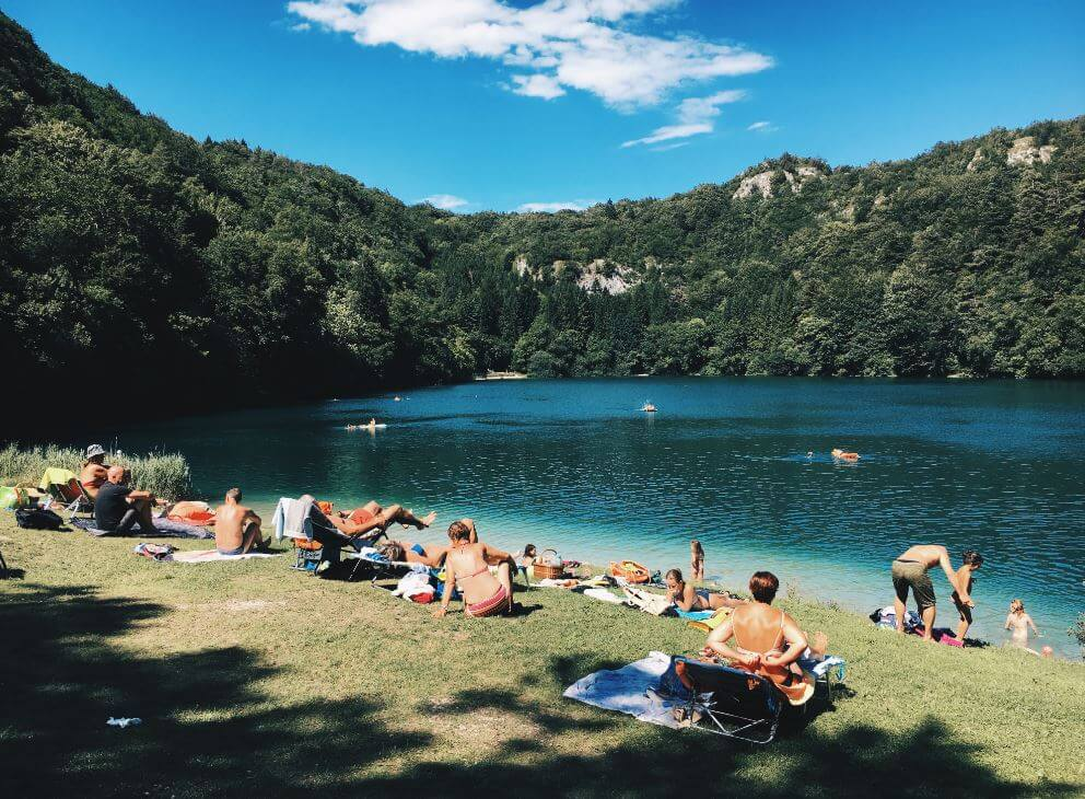 Family Camping Trip Swimming - Family Camping | Tips for Planning the Perfect Trip