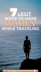 Make Money Traveling