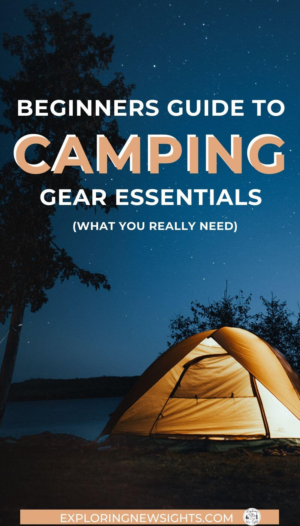 really like 4 1 - Beginner's Guide to Camping Gear Essentials - What You Really Need