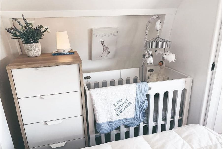 swannofakind after nursery - 7 Adorable RV Nursery Makeovers You Will LOVE