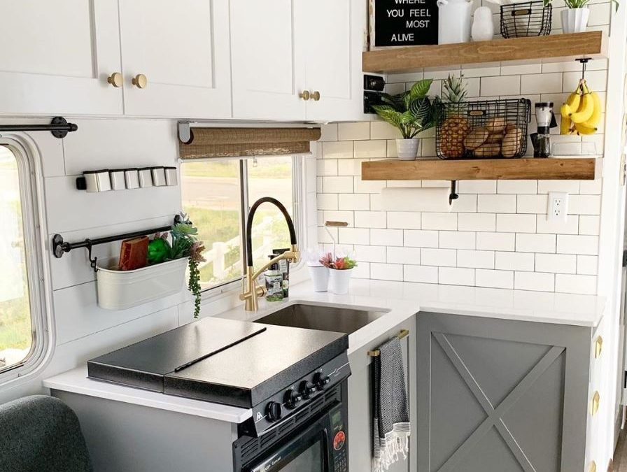 30 RV Kitchen Makeovers that will Inspire Your Inner Designer