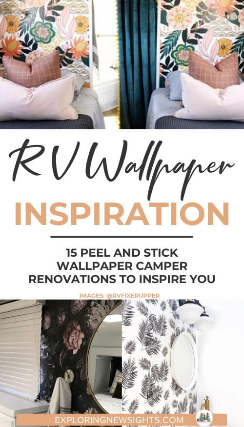 Rv Wallpaper How To Use Peel Stick Wallpaper To Transform Your Camper