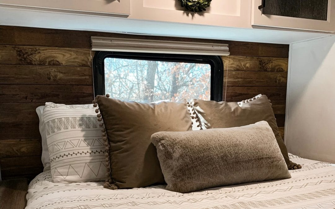 RV Wallpaper | How to use peel & stick wallpaper to transform your Camper