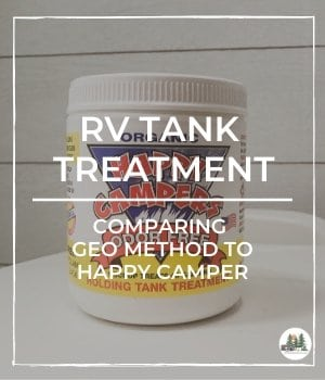 RV Tank Treatment