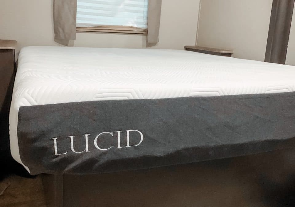 Tips for Making Your RV Bedroom Cozy & Comfy + Lucid Mattress Review