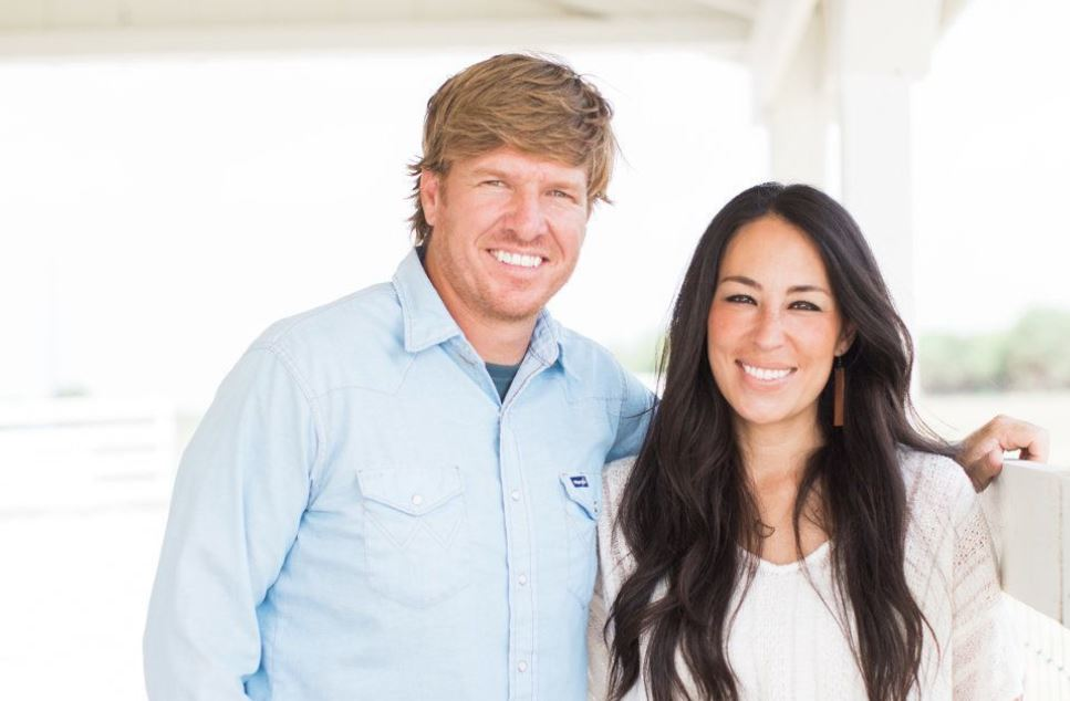 Chip and Joanna Gaines. HGTV's Home Improvement Stars of the show Fixer Upper.