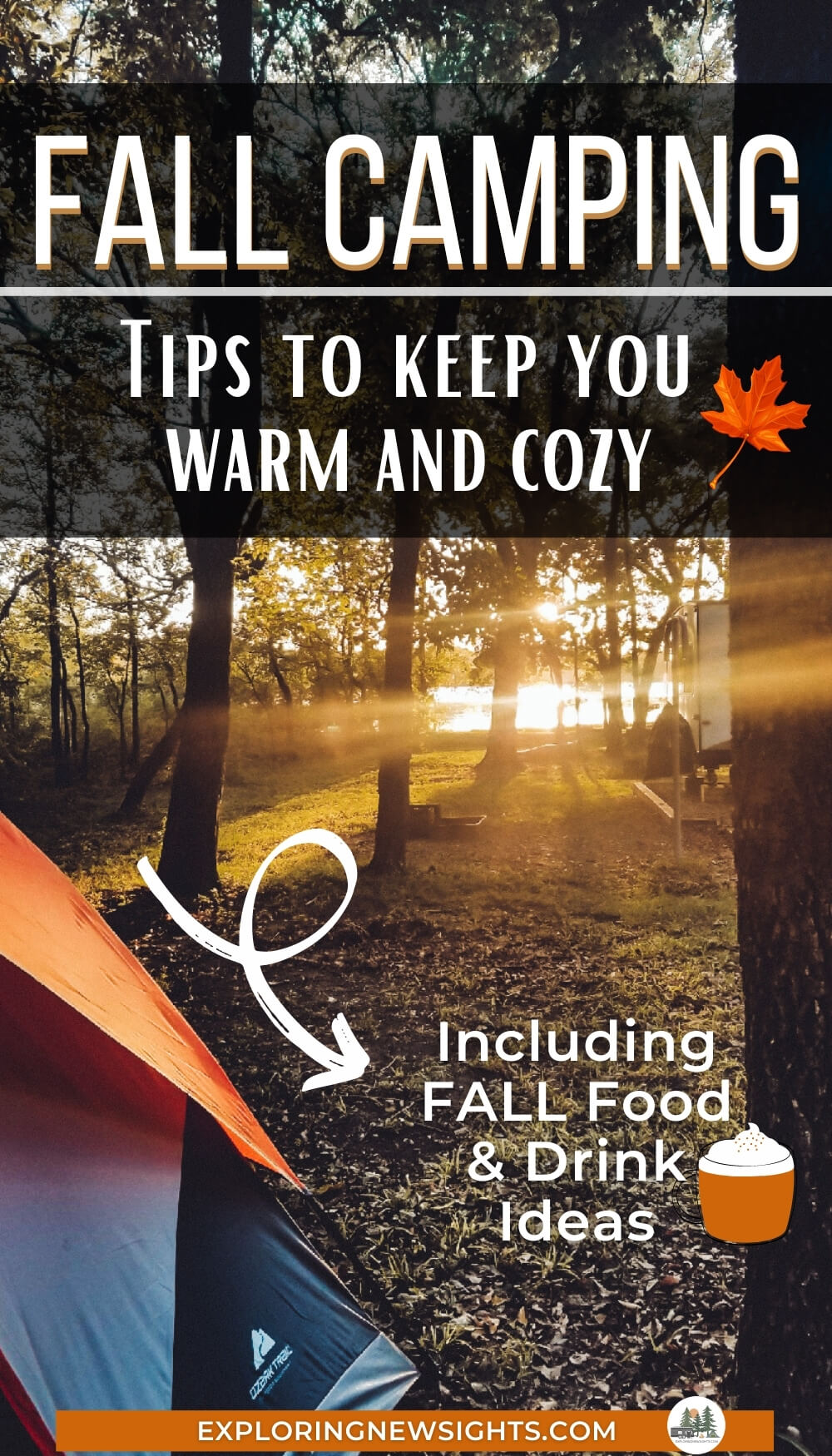 Fall Camping Tips with Fall Food ideas