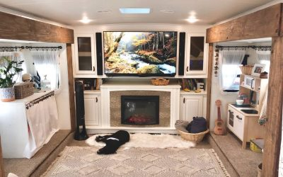 RV Renovation Tour | A Rustic Bohemian Home on Wheels with @Our.Own.Beat