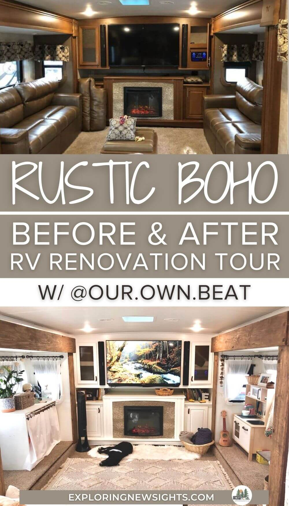 rustic bohemian RV renovation tour (1)