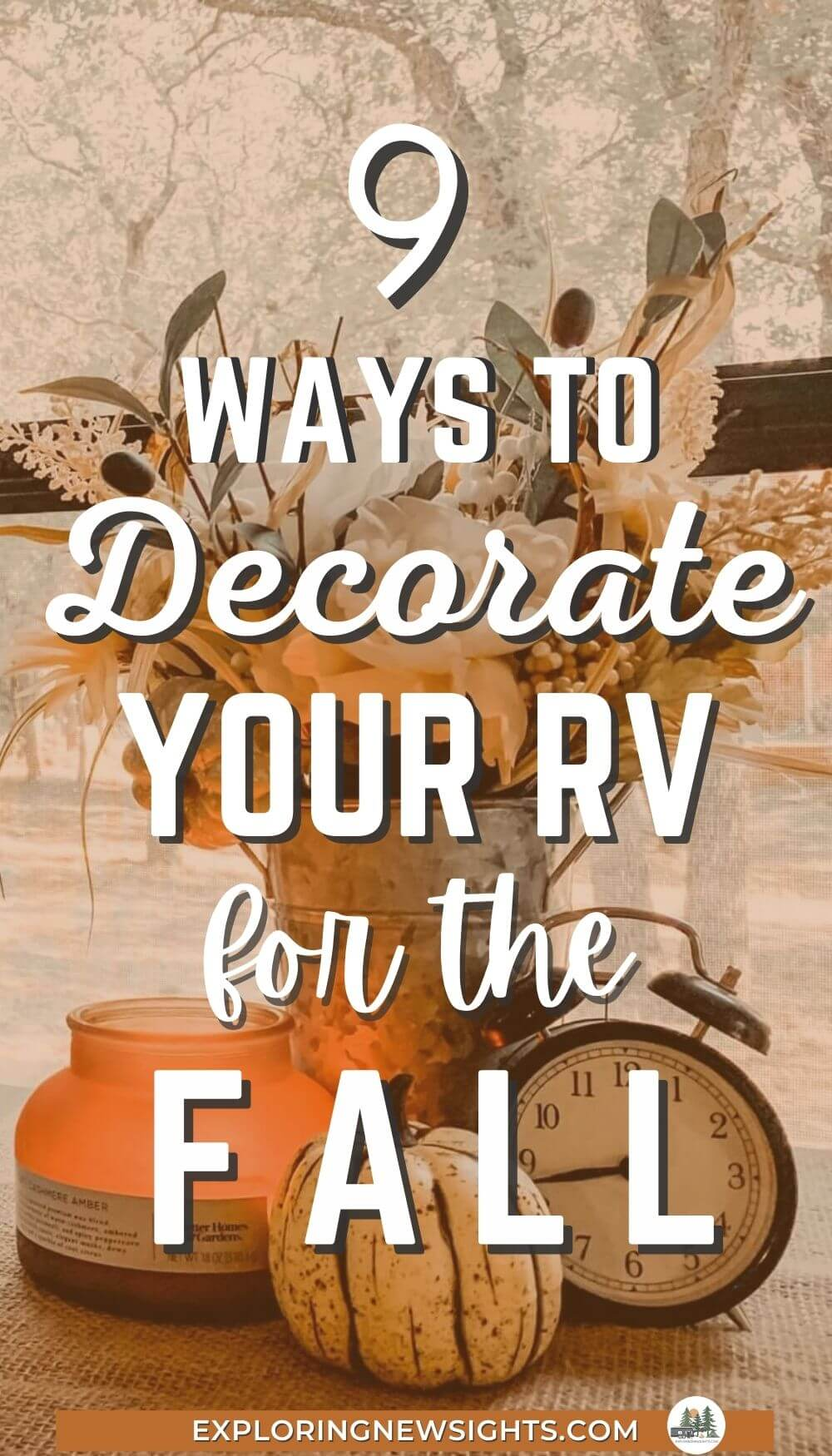 RV Decorating Fall