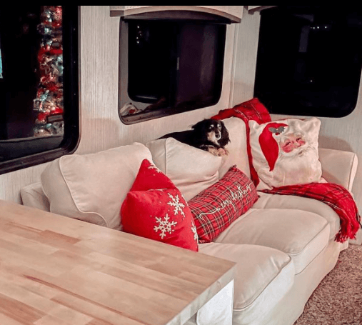 RV Christmas Pillows