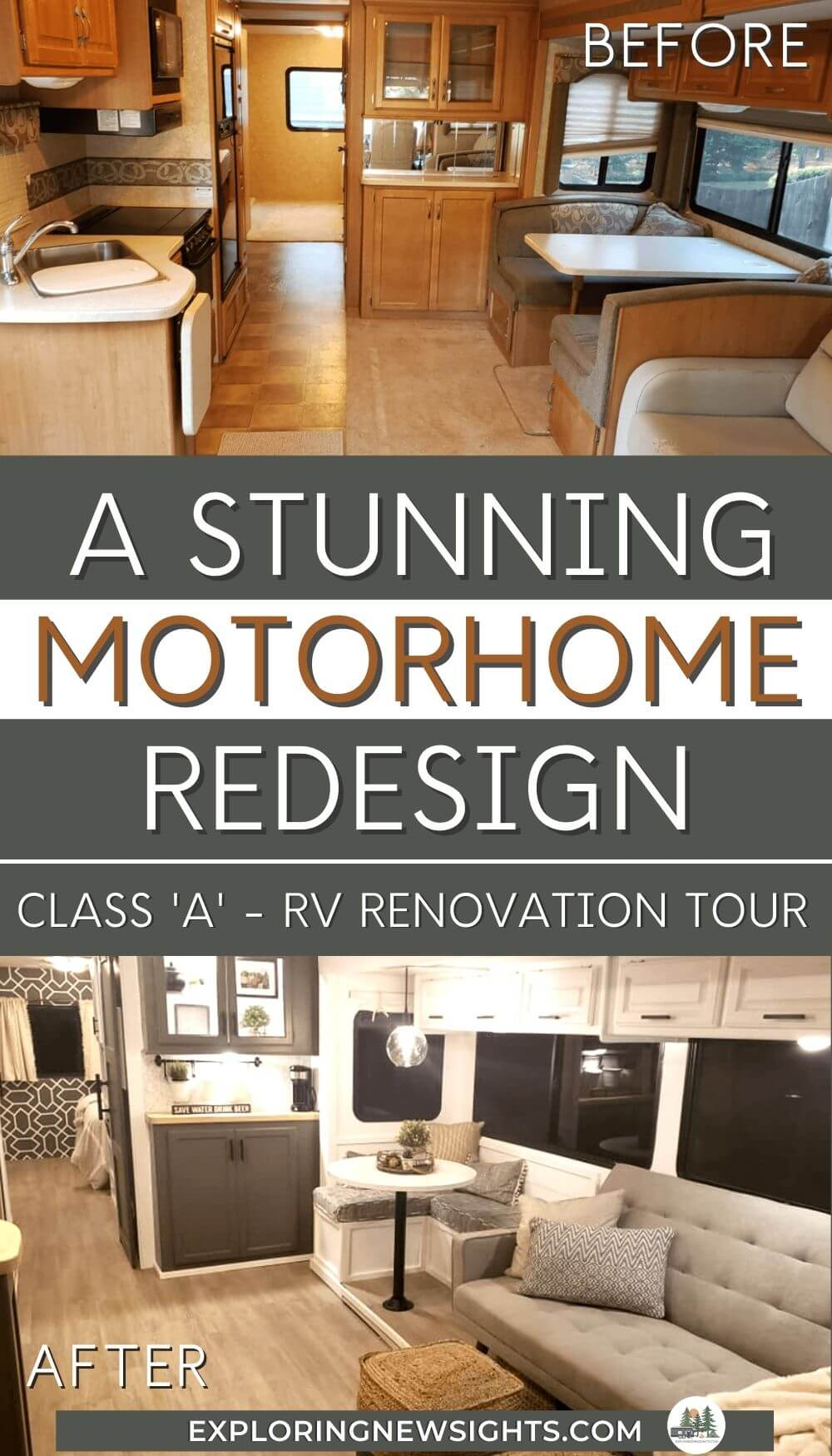 Modern Motorhome RV renovation (1)