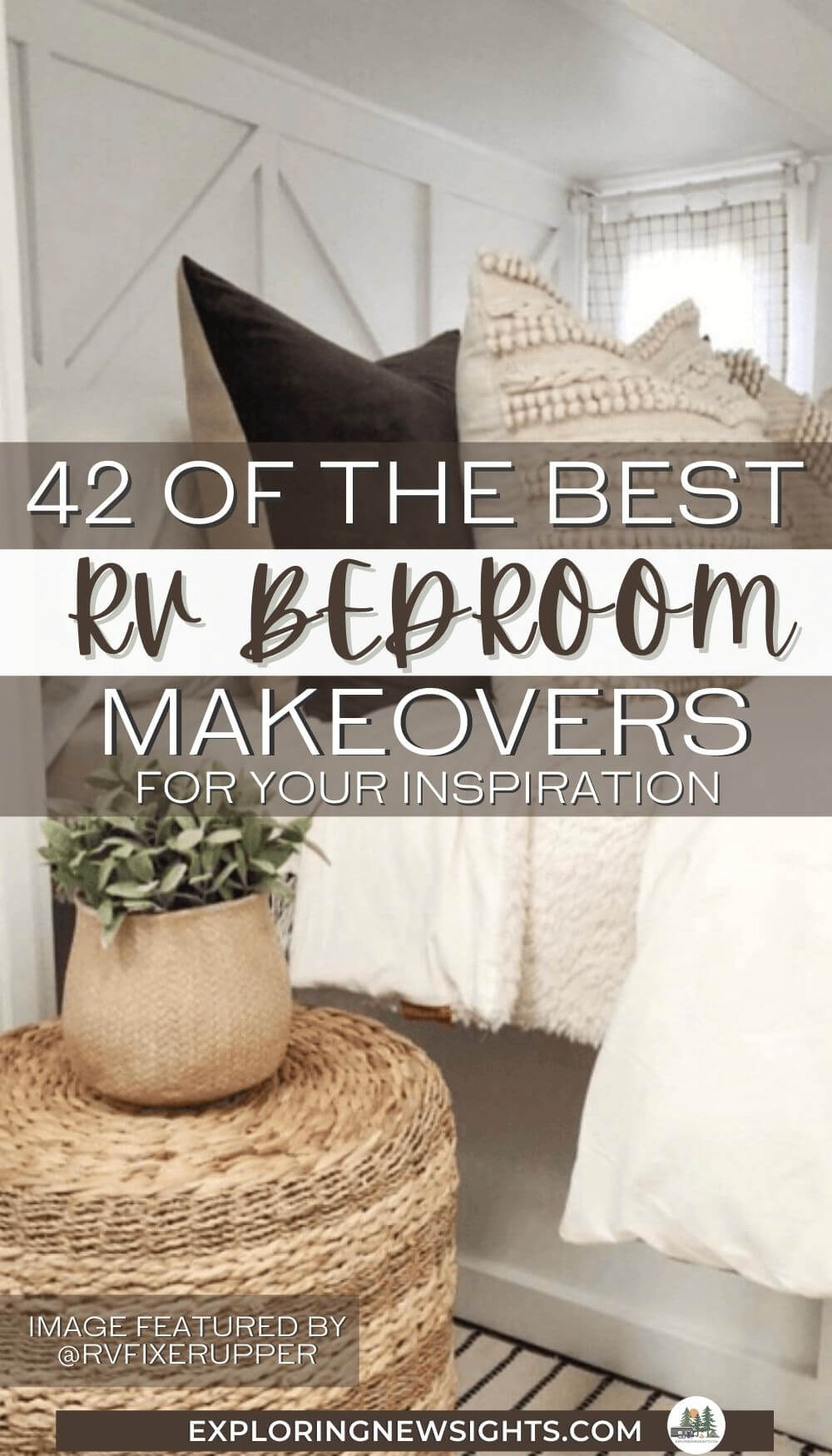 RV Bedroom Makeovers