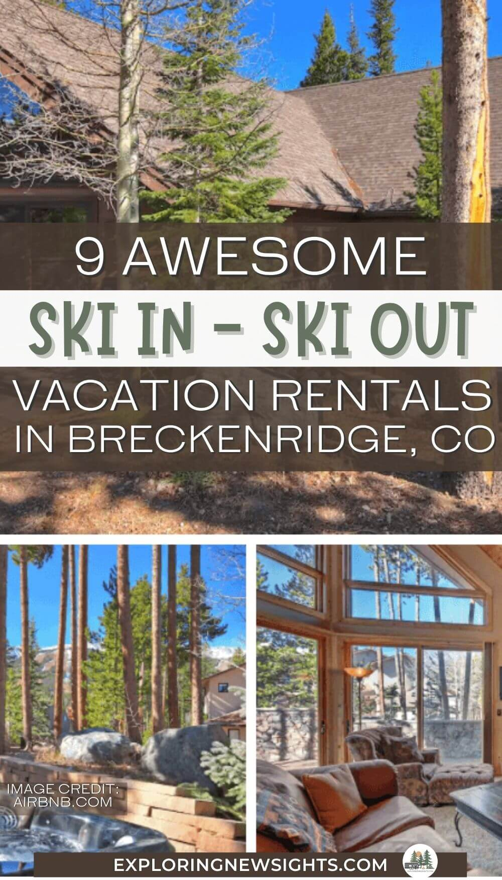 Ski in Ski Out Vacation Rentals