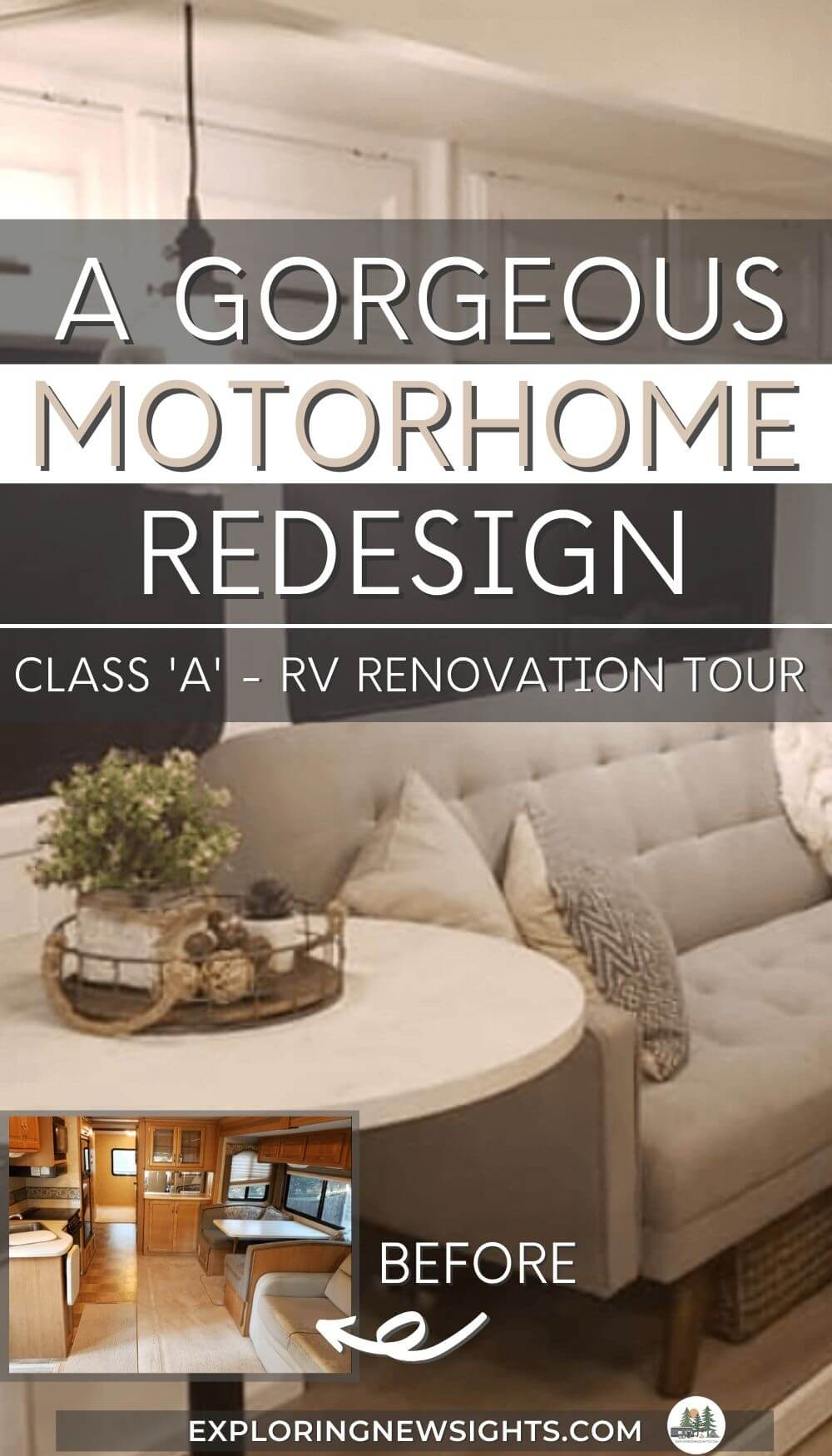 gorgeous Motorhome RV renovation (1)