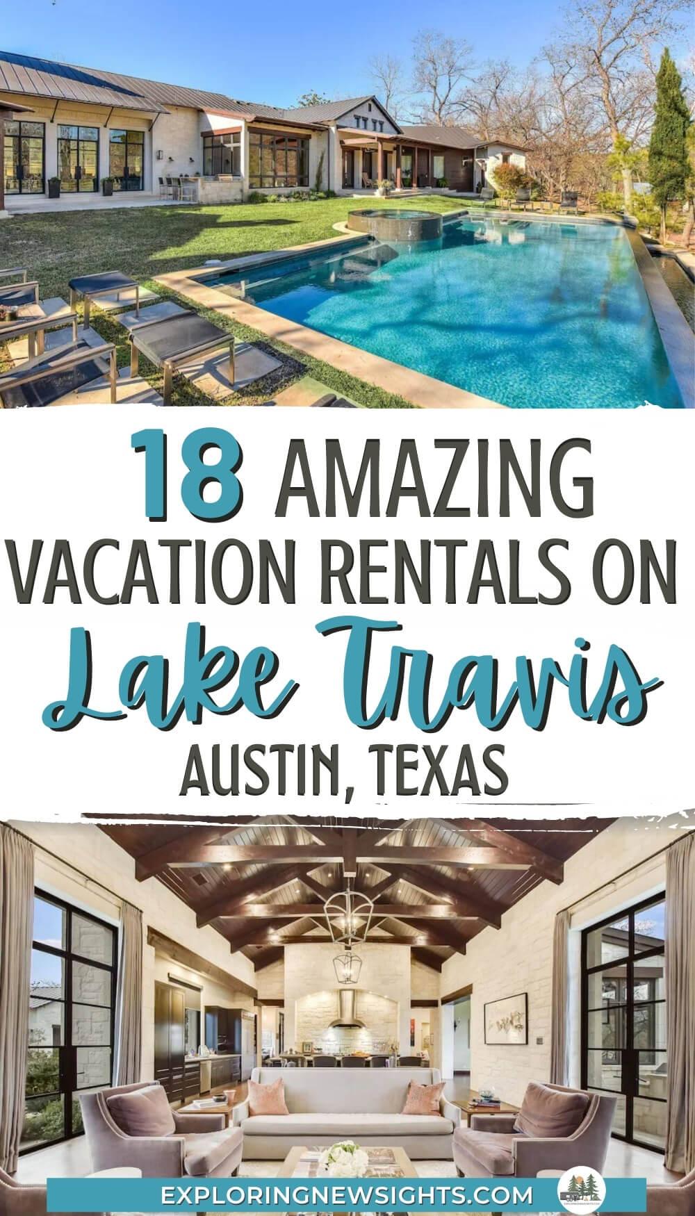 Vacation Rentals on Lake Travis